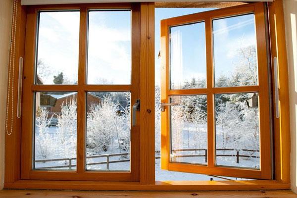 komfort11 Деревянные окна со стеклопакетом